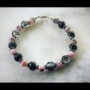 Hand made Bracelet with lobster clasp